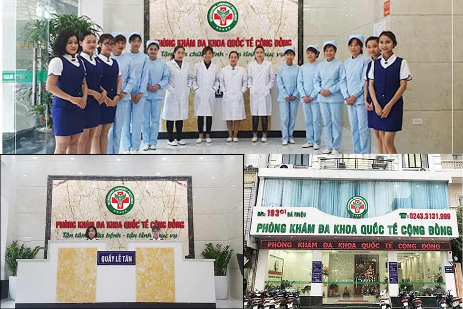 Phòng khám Đa khoa Quốc Tế Cộng Đồng