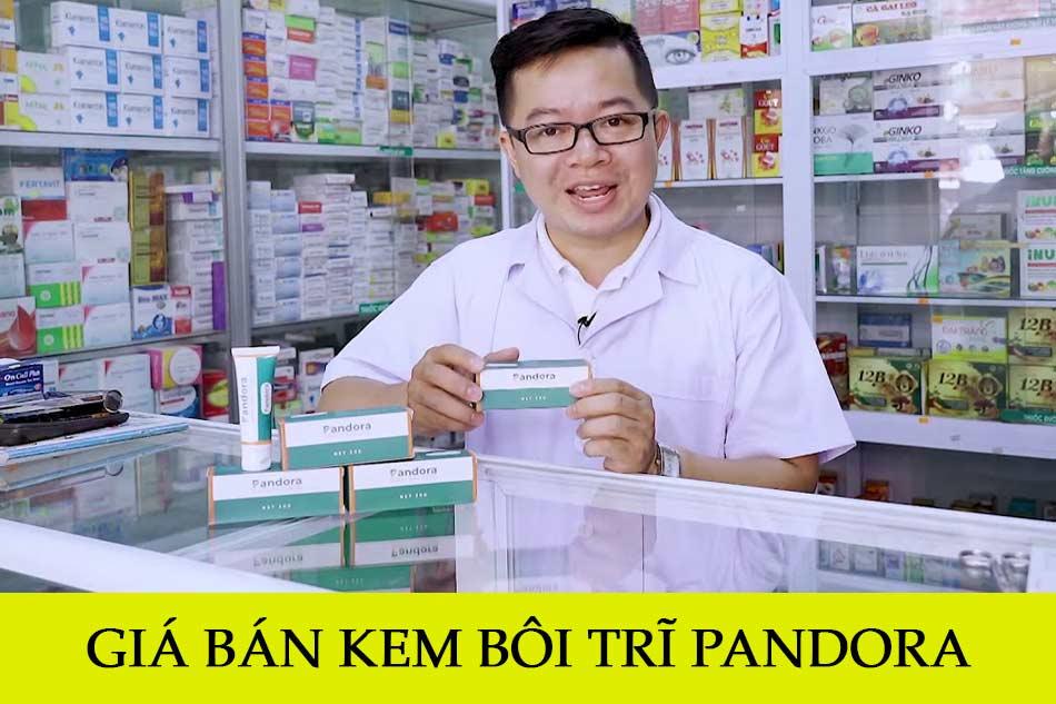Giá bán kem bôi trĩ Pandora