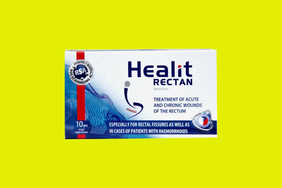 Tương tác thuốc của Healit Rectan
