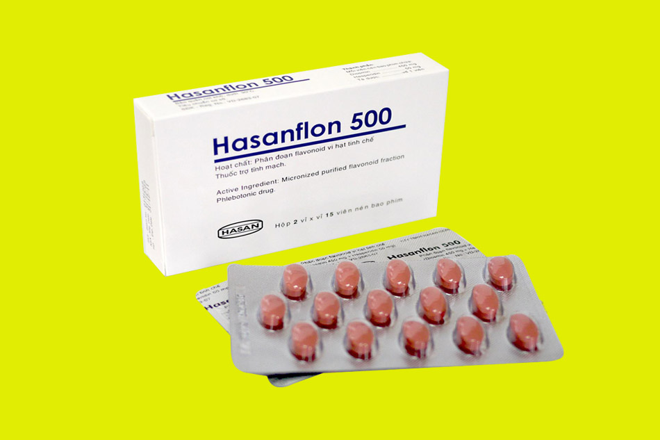 Thuốc Hasanflon 500mg