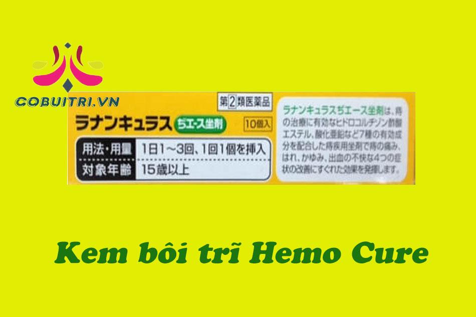Kem bôi trĩ Hemo Cure Nhật Bản