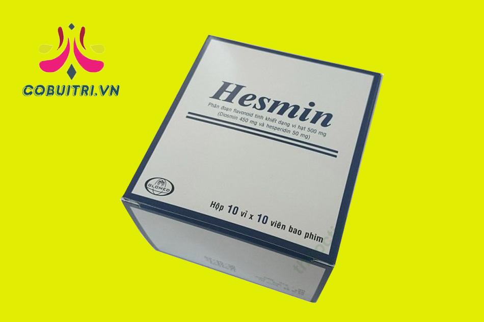 Hesmin là thuốc gì?