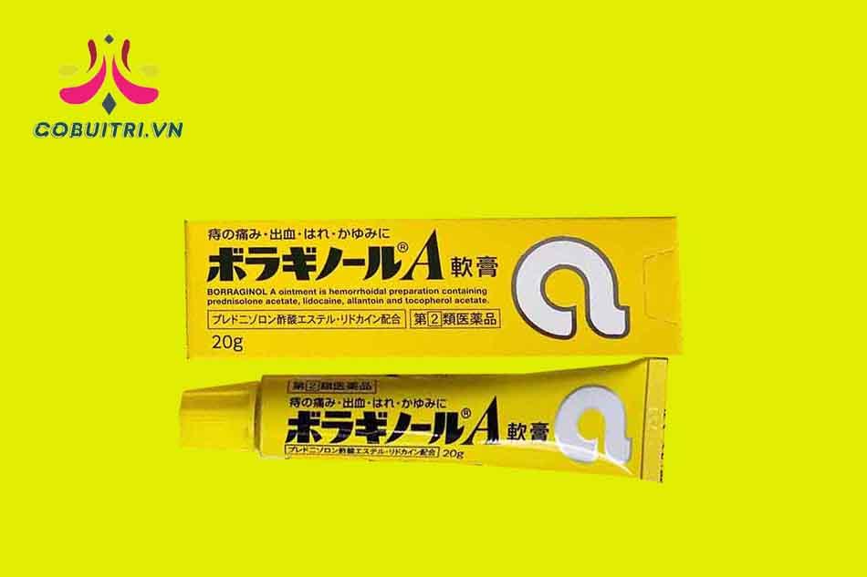 Kem trĩ chữ A Nhật Bản