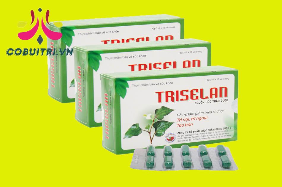 Tác dụng Triselan