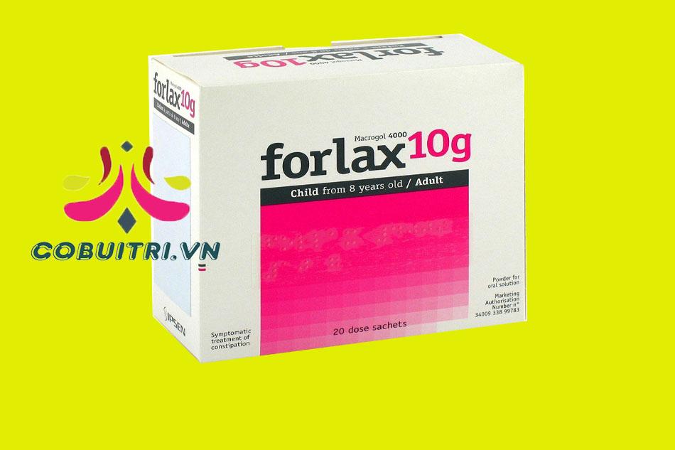 Forlax là thuốc gì?