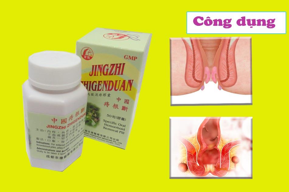 Công dụng- Chỉ định của thuốc Trĩ Căn Đoạn Vĩnh Khang