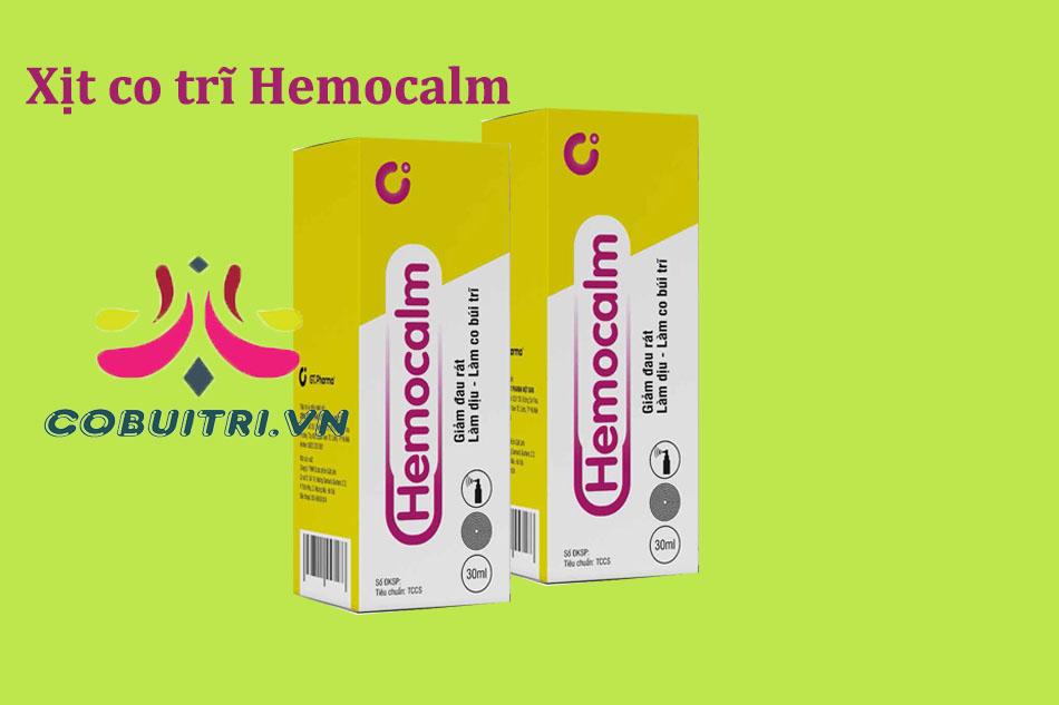 Hemocalm là thuốc gì?