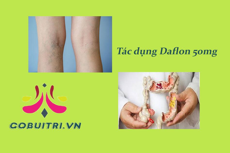 Tác dụng của thuốc Daflon