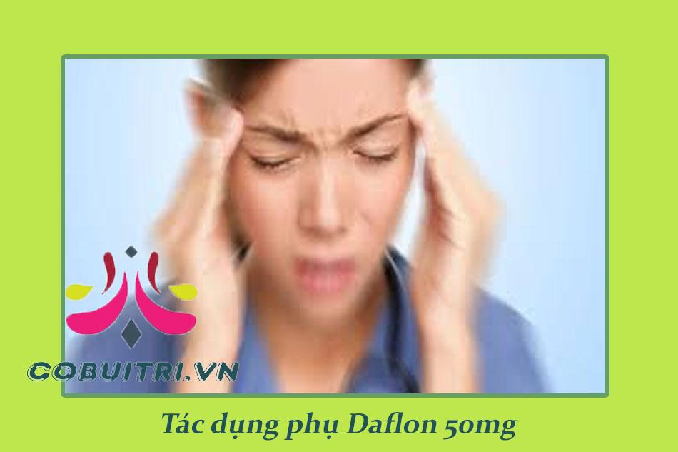 Tác dụng phụ của thuốc giãn tĩnh mạch Daflon 500mg